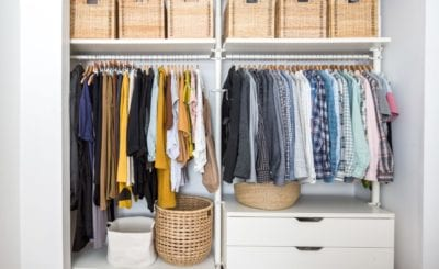 Tips for Organizing a Closet